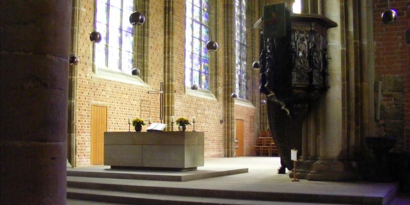 """Exkursion im Rahmen der Lehrveranstaltung """"Ästhetik der Liturgie"""""""